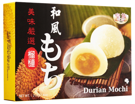Ciasteczka mochi z durianem 210g Royal Family
