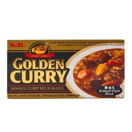 Golden Curry 220g S&B ostre