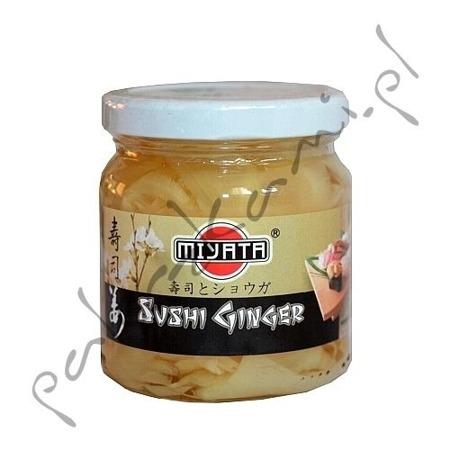 Imbir marynowany naturalny 190g Miyata