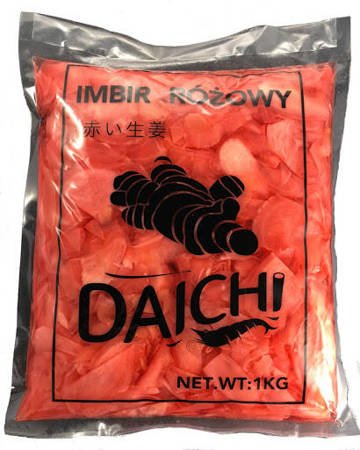 Imbir marynowany różowy 1Kg - Daichi