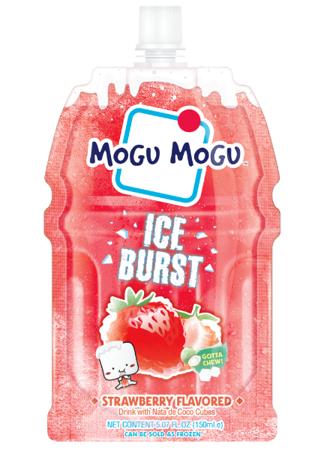 Mogu Mogu Ice Burst Truskawka z galaretką kokosową 150ml
