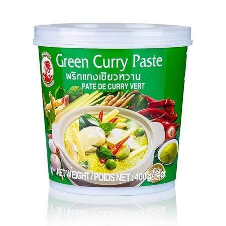 Pasta curry zielona 400g