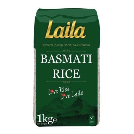 Ryż biały Basmati 1kg Laila
