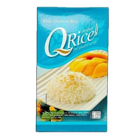 Ryż długoziarnisty biały, kleisty 1kg