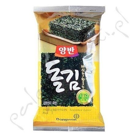 Snacki z alg morskich 2,7g - naturalne
